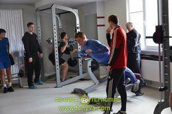 Тренування у фітнес - центрі