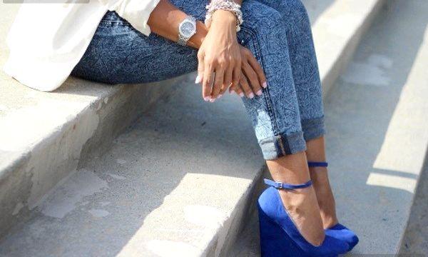 Туфлі та босоніжки на платформі (фото)