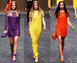 У цьому сезоні популярні мереживні сукні