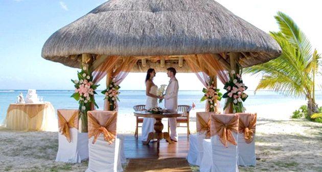 Дивовижна весільна Церемонія на бермудах
