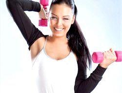 Вправи з гантелями: як стати «залізної» леді
