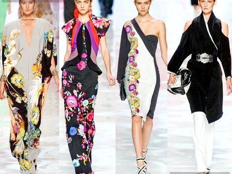Східні мотиви в модних колекціях (фото)