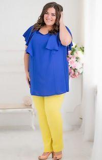 Вибір жіночого одягу великих розмірів