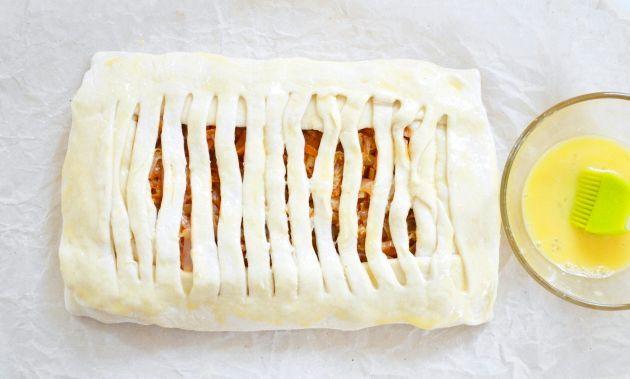 Закритий пиріг з капустою