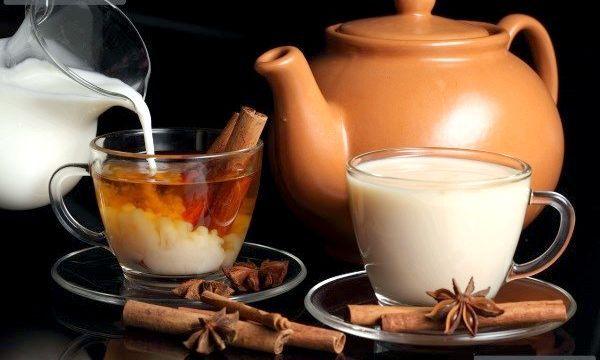 Зелений чай з молоком для схуднення