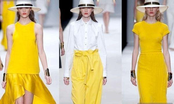 Жовтий колір в одязі - тренд сезону (фото)
