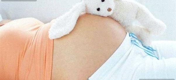 Живіт при другій вагітності
