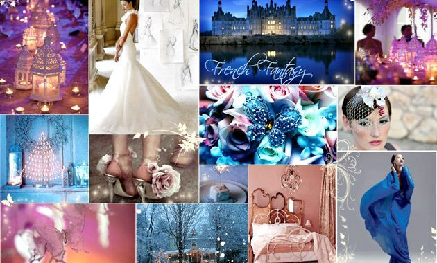 Зимове весілля в стилі