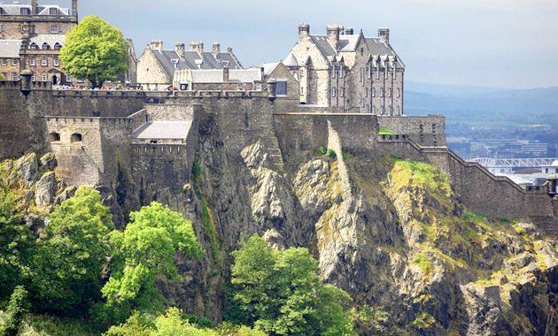 Знамениті середньовічні замки шотландії
