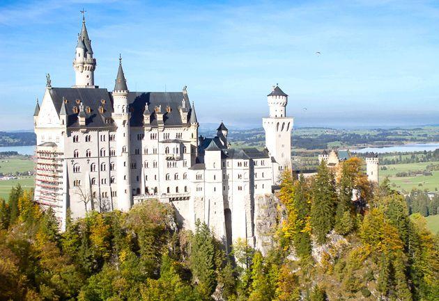 Знамениті замки германии